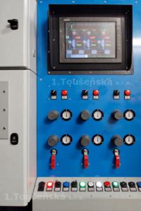 řídící panel zařízení pro čištění šneků