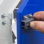 boční zavírání dveří tryskacíh kabin