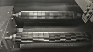 kuličkování, neboli shot-peening výrazně zvyšuje životnost dílů
