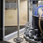 karuselový tryskač a ukázka řešení servisních dveří