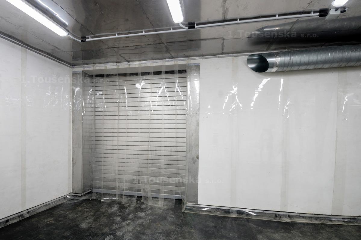 tryskací komora
