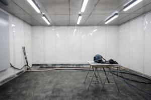 tryskací komora pro balotinování