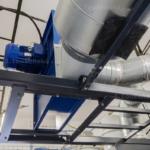 vzduchotechnika tryskací komory